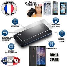 Protection d'Ecran en Verre Trempé Contre les Chocs pour Nokia 7 Plus