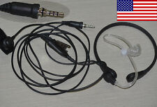 Throat Vibration headset + mic for Yaesu VX-170 VX-177 VX-6R VX-7R FT-270R 277R