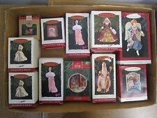 VINTAGE Lot of (14) HALLMARK KEEPSAKE ORNAMENTS Original boxes, unopened *