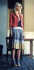 "2005 Very Rare Anthropologie Scenic Print ""Binocular Skirt""  Color Block 4"