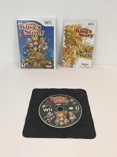 'Little King's Story' (Nintendo Wii, 2009) Complete & Tested! Disc is Mint!
