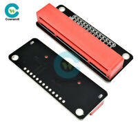 Microbit Development 2.54mm Mini Breakout Expansion Plate Red Adapter For BBC