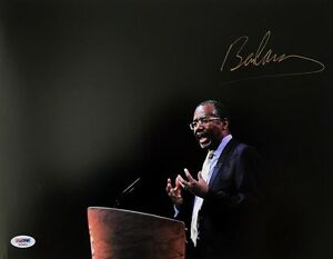 BEN CARSON SIGNED AUTOGRAPHED 11x14 PHOTO 2016 PRESIDENTIAL CANDIDATE PSA/DNA