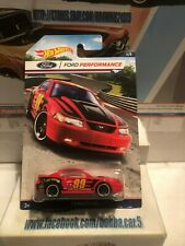 2016 Hot Wheels '99 Mustang #4/8 [Red] Ford Performance Series Diecast Car
