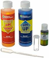 pH Control Kit Up Down Solution Test For Hydroponic Soil Plant Water Aquarium