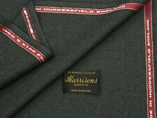 100% lana di ingresso siano consone Tessuto, stile vintage, Dk Grey, costola Weave made in Inghilterra 3.5 m