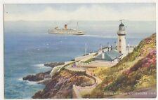 Douglas Head Lighthouse, IOM Art Postcard, B390