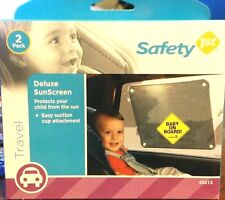 Safety 1st Baby On Board Deluxe Sunscreen (2 Pack)