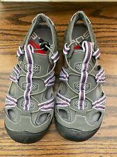 Outland Solstice II Women's River Sandals Size 9 Gray Purple