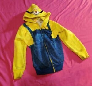Minions Kids Jacket Size 7 Long Sleeve