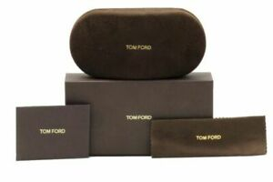 Brand New TOM FORD Glasses Case Fits Optical/Sunglasses with sealed cloth & box
