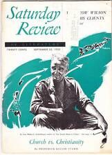SATURDAY REVIEW September 23, 1950 -  James Michener reviews KON-TIKI