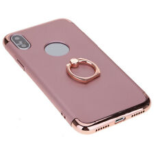 Three-piece Ring-Finger Holder Back Kickstand Shell Phone Case For iPhone X 10