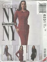 McCall's 6231 Misses' Dress, Tunic and Pants   Sewing Pattern