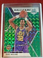 PANINI 2019-20 MOSAIC GREEN PRIZM HALL OF FAME #284 KARL MALONE *JAZZ*