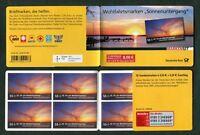10 x Bund 2717 Markenheftchen MH 77 postfrisch Selbstklebende Sonnenuntergang