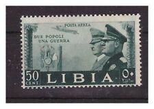 LIBIA - 1941 FRATELLANZA D'ARMI  POSTA AEREA  50  CENT.  NUOVO  **