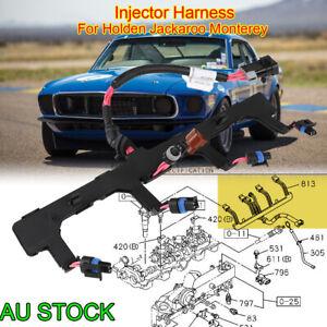 Injector Harness For Holden Jackaroo Monterey 4JX1 Turbo Diesel 3.0L UBS73 SP