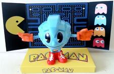 Arcade Game PAC-MAN Bandai ACTION FIGURE on Custom Display BLUE SPINNER
