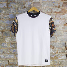 Crooks & Castles Python T-Shirt In White Sizes M L