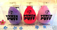 W7 Power Puff Face Foundation & Makeup Blender Sponge  ❤ Buy 5 & Get 1 FREE! ❤
