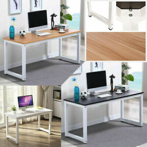 1.2M Modern Simple Office Desk Tan Oak Colour Wood Home Study House PC LaptopA