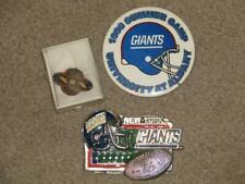 Giants 1996 Summer Camp Pin, & other Pin, Super Bowl Pin
