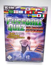 PC Spiel - Fussball Quiz Weltmeister Edition 2006 (mit OVP)(NEUWARE)