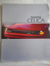 Toyota Celica range brochure c1990