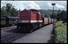 35mm slide+© DR Deutsche Reichsbahn 199 870-7 Werningerode Germany 1991 original