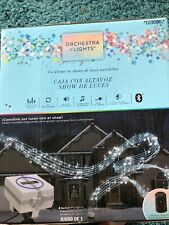 Gemmy Orchestra of Lights Holiday Light Show Music Box w/ Speaker