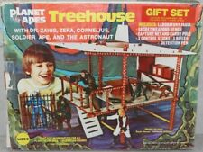 """Mego 8"""" PLANET OF THE APES 1974 Tree House Gift Set MIB All Original OSS"""
