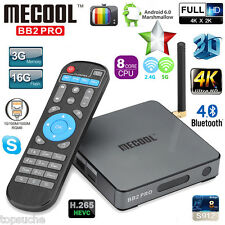 MECOOL BB2 PRO 3GB+16GB Android 6.0 S-912 OctaCore 3D TV BOX UHD 4K*2K Dual WIFI