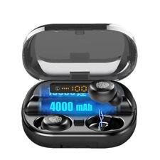TWS In-Ear Kopfhörer Bluetooth 5.0 Kabellos Ohrhörer Stereo Headset mit Ladebox