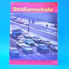Der Deutsche Straßenverkehr 12/1982 Citroen BX CSSR-Camping Lada Großraumtr. G
