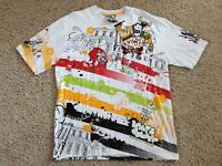 New 5IVE JUNGLE & CO. Urban Shirt XL Walk of Life BURROUGHS OF NYC Graphics NWT