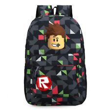 Roblox Backpack Kids School Bag Students Boys Bookbag Handbags Travelbag Bag