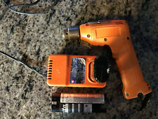 VINTAGE ORANGE MAKITA 10mm 2-SPEED CORDLESS DRILL 6012D & DC7000 FAST CHARGER