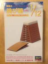 Hasegawa 1/12 School Vaulting Box Model Kit Japan