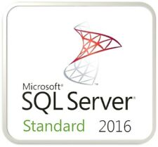 Microsoft SQL Server 2016 Standard - Full 4 Core Server License