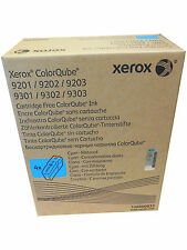 4PK XEROX COLORQUBE 9201 9202 9203 9301 9302 9303 Printer Cyan Inks 108R00833