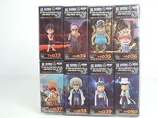 One Piece World Collectable Figure FILM Z vol.5 WCF Banpresto Complete set Japan