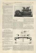 1924 neumáticos de ferrocarril Mandrinadora Craven rojizo
