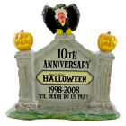Department 56 Accessories HALLOWEEN 10TH ANNIVERSARY SIGN 805026