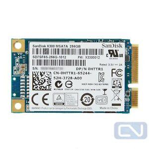 256GB mSATA Dell HTTR1 SanDisk X300 SD7SF6S-256G-1012 SATA 6Gb/s SSD
