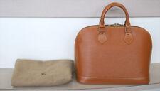 AUTHENTIC LOUIS VUITTON ALMA Epi Brown Handbag No.857