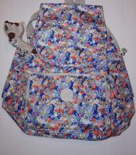 Kipling Ravier Backpack Funny Fields floral print NWT