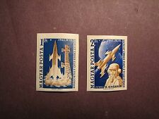 Hungary Stamp Scott# 1381-82 IMP. Gagarin & Vostok I 1961 MNH C48B4