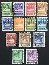 MOMEN: SIERRA LEONE SG #155-167 1932 MINT OG H LOT #60528