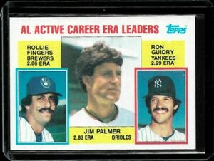 1984 Topps Rollie Fingers/Jim Palmer/Ron Guidry #717 MINT